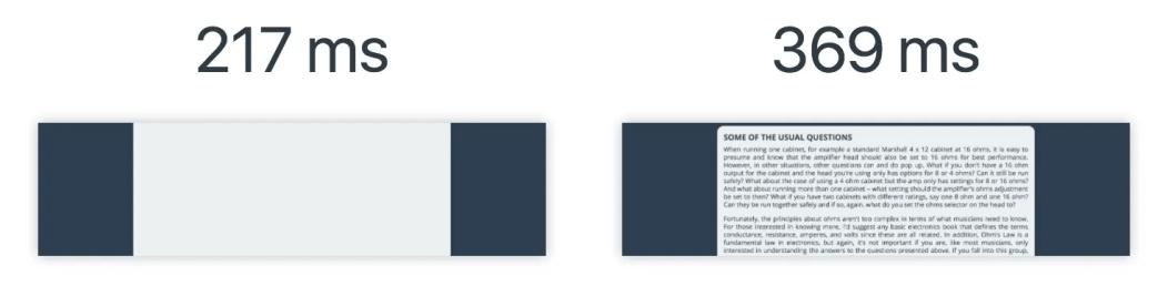 Valores de fuentes personalizadas en Cumulative Layout Shift