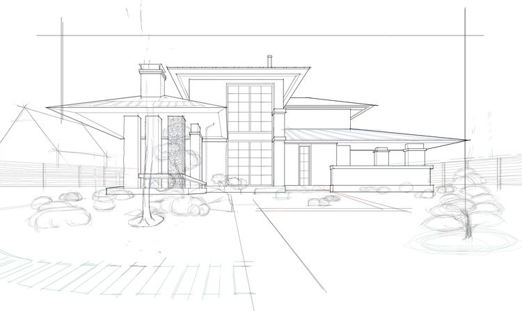 ARCHITECTURAL MARKER DRAWING USING AUTODESK SKETCHBOOK AND
