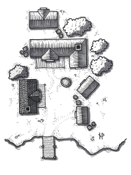 Tutorial: how to draw a fantasy village map by Niklas Wistedt Prototypr