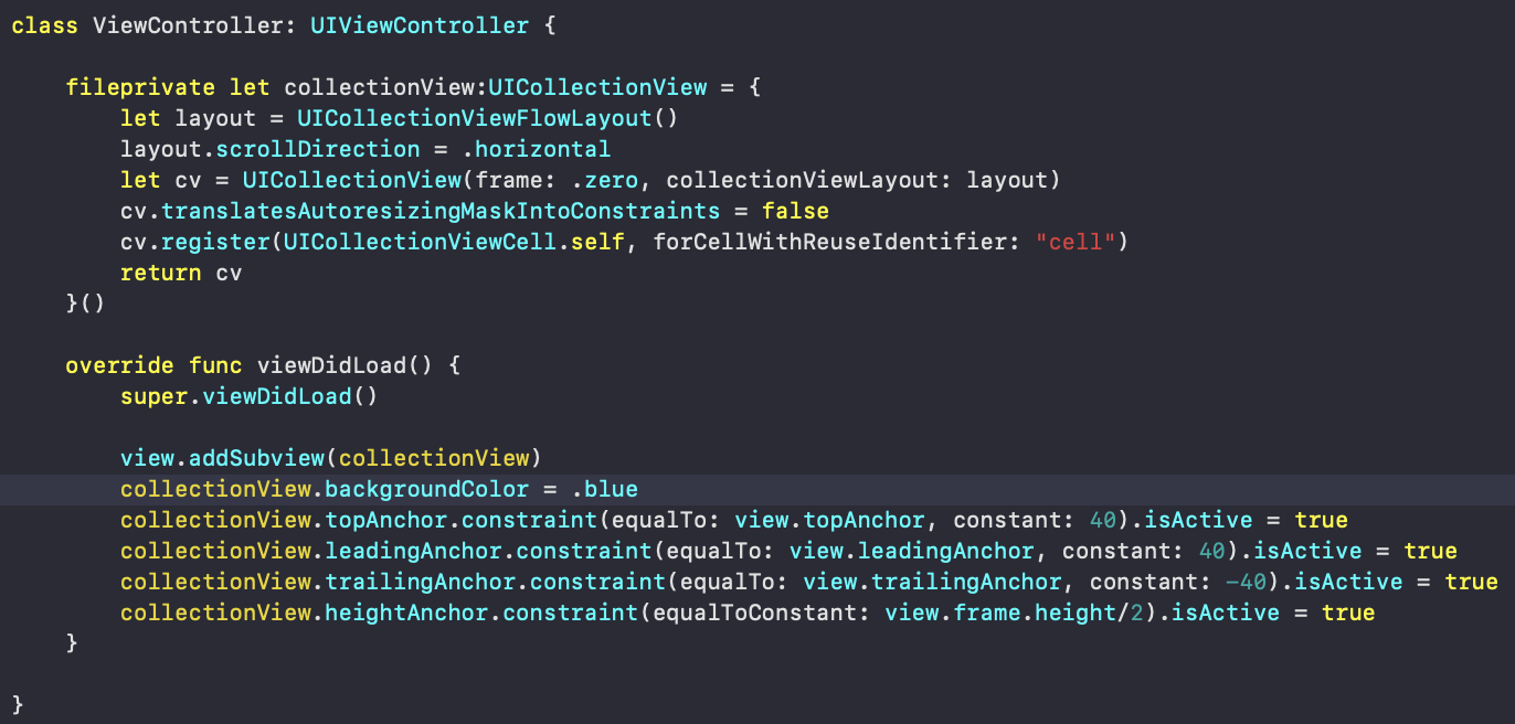 Uicollectionview Grid Layout Swift