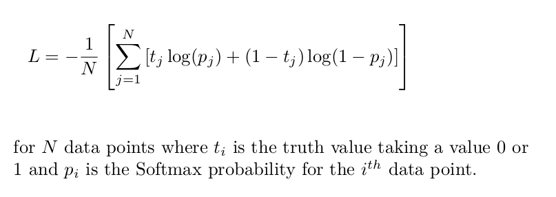 Cross-Entropy Loss Function. A loss function used in most…   by Kiprono Elijah Koech   Oct. 2020   Towards Data Science