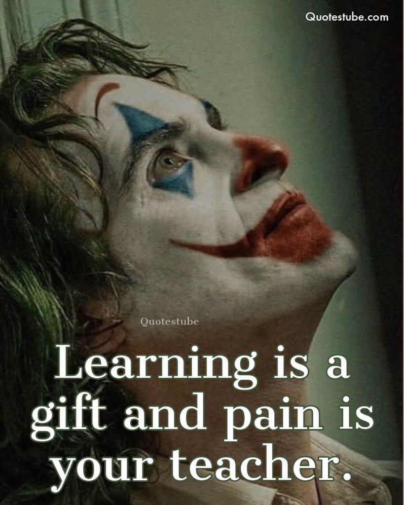 Love Joker Quotes : joker, quotes, Joker, Quotes, Time., Getting, Trendy., People…, Medium