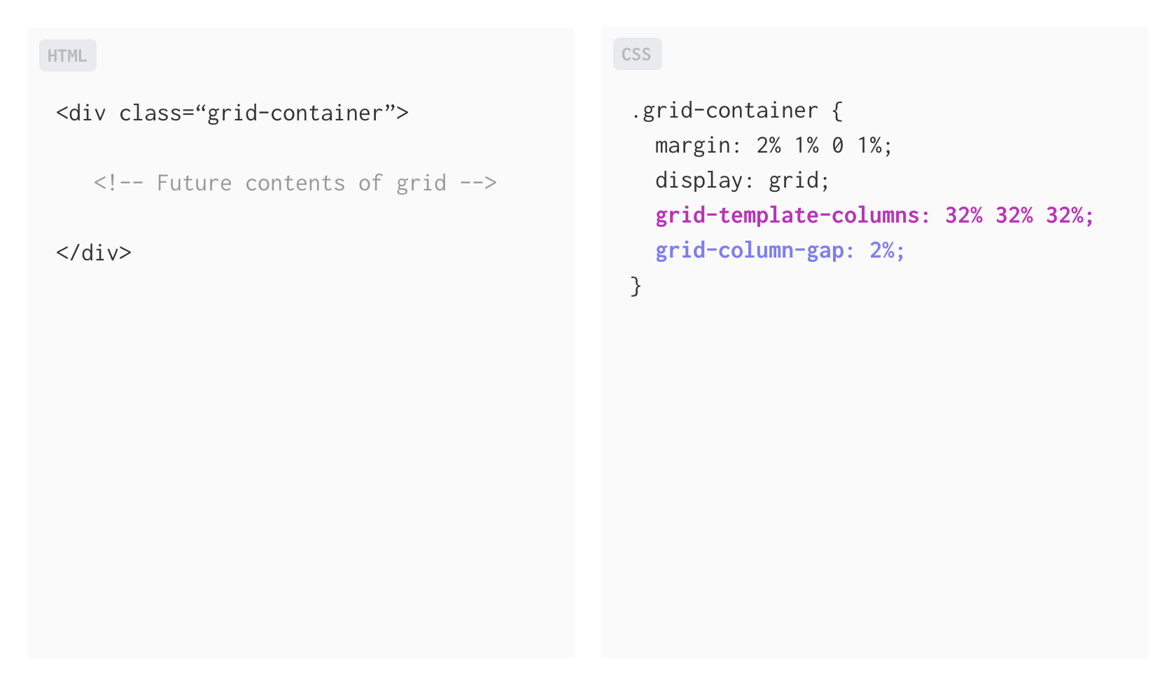 css grid for designers