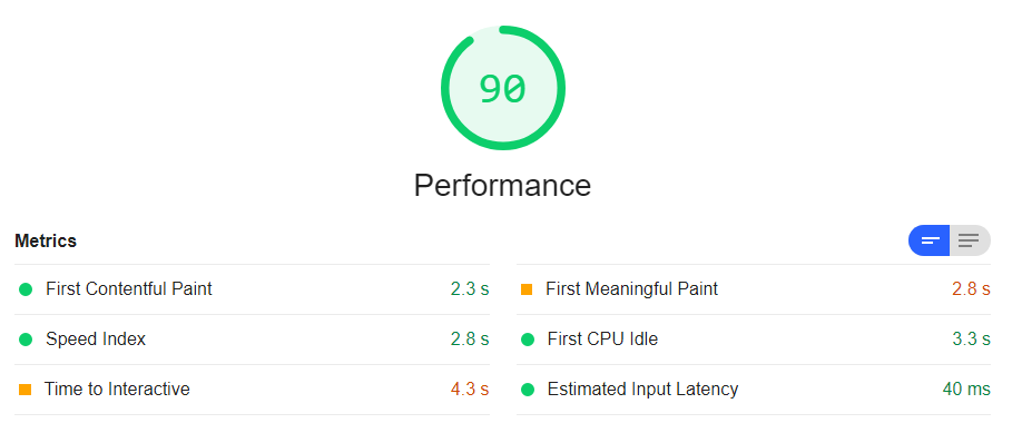How I got a 100% Lighthouse score with my React app