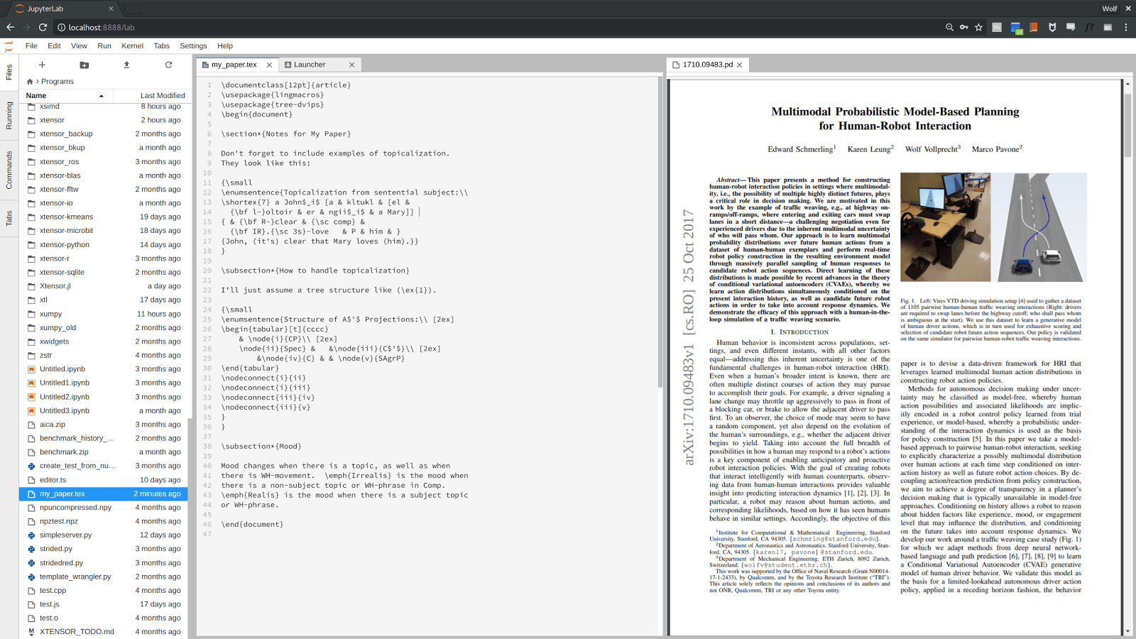 hight resolution of a diagram editor for jupyterlab