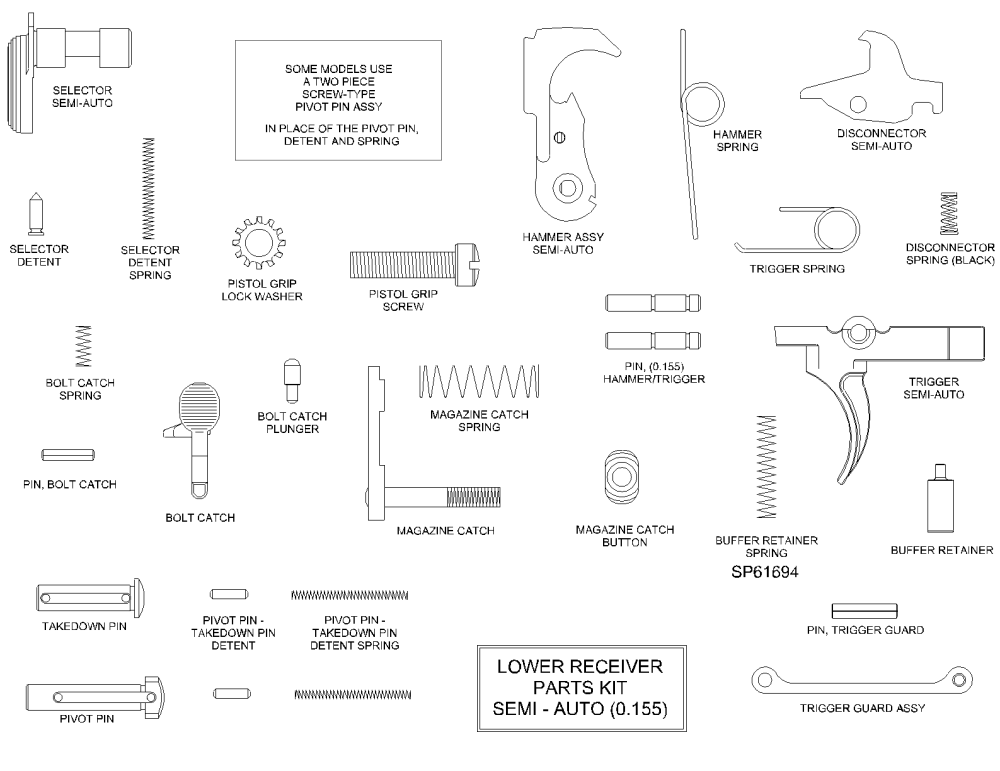 medium resolution of ar 15 lower parts kit diagram png