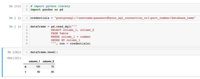 How to Convert SQL Query Results to a Pandas Dataframe  by Matt