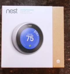 3rd generation nest thermostat [ 1838 x 695 Pixel ]