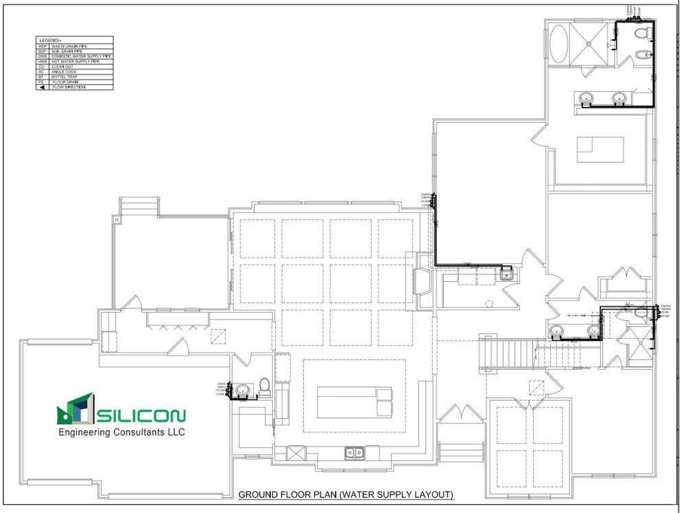 medium resolution of plumbing piping cost estimation silicon engineering consultants llc minnesota usa