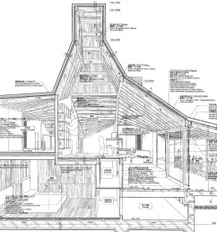 examples of atelier bow wow s architectural drawings [ 1600 x 1040 Pixel ]