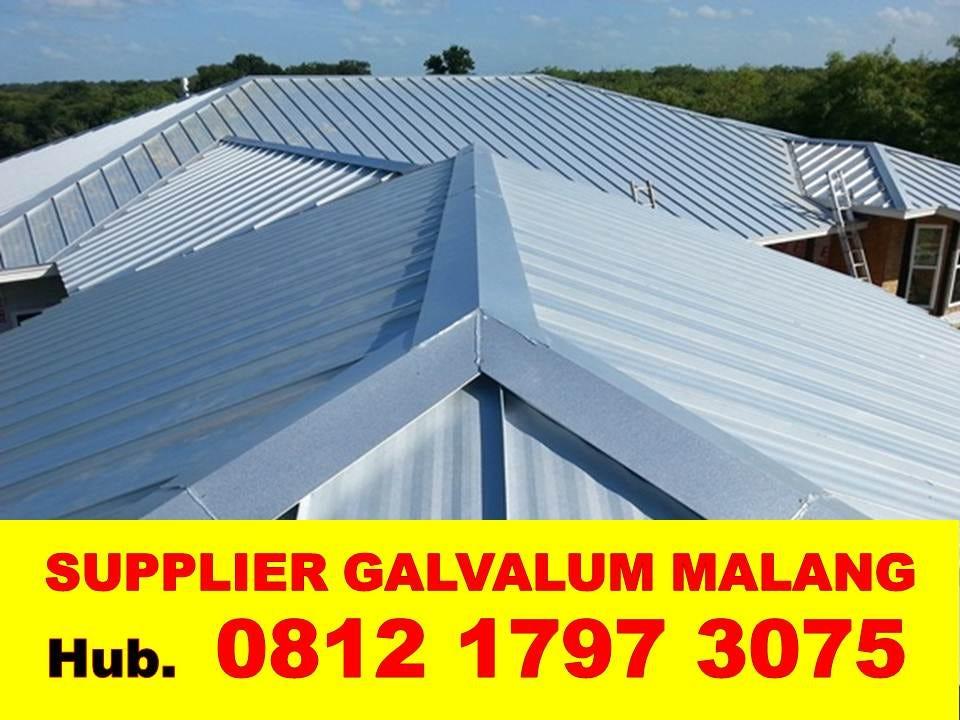 harga ganti atap baja ringan 082140302426 termurah di malang raya rangka galvalum
