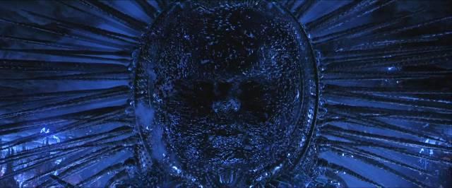 "Кадр из фильма ""Матрица. Революция"" с богом машин"