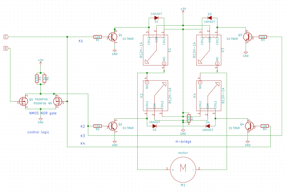 medium resolution of kicad schematic now available at https github com rxseger rp hbridge