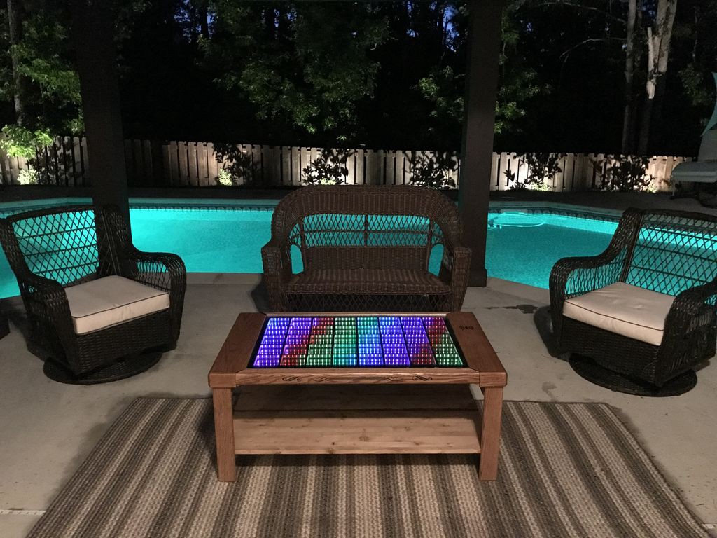 this led coffee table takes your home
