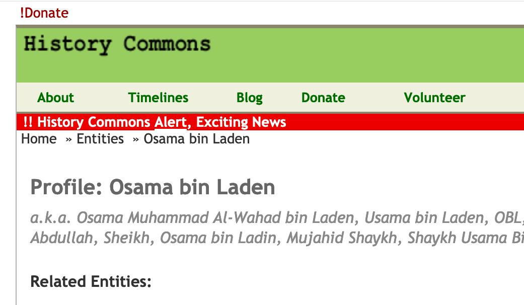 HistoryCommons.org - Revolutionary App May Go Offline   by Erik Larson   Medium