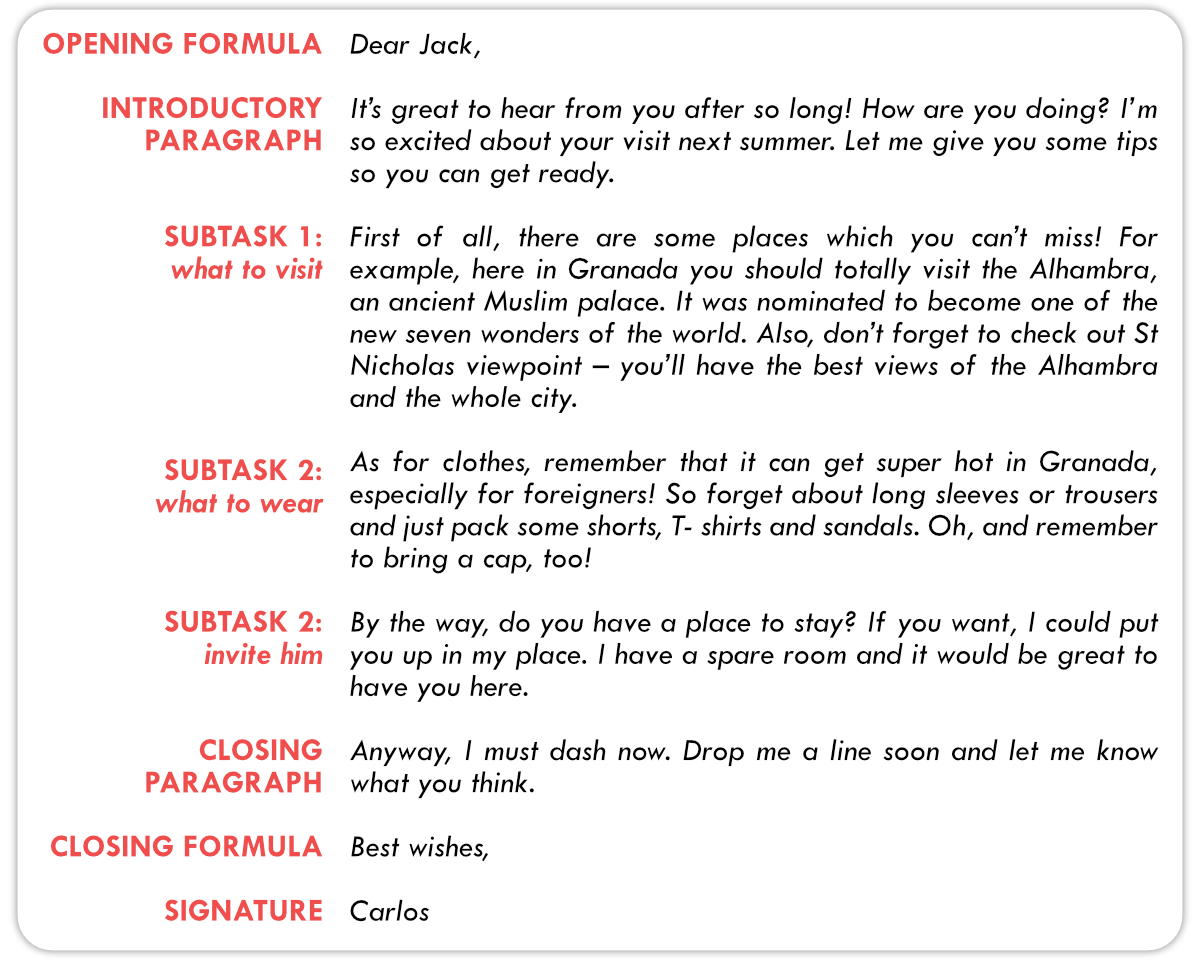 How To Write An Informal Email For Fce Writing Part 2