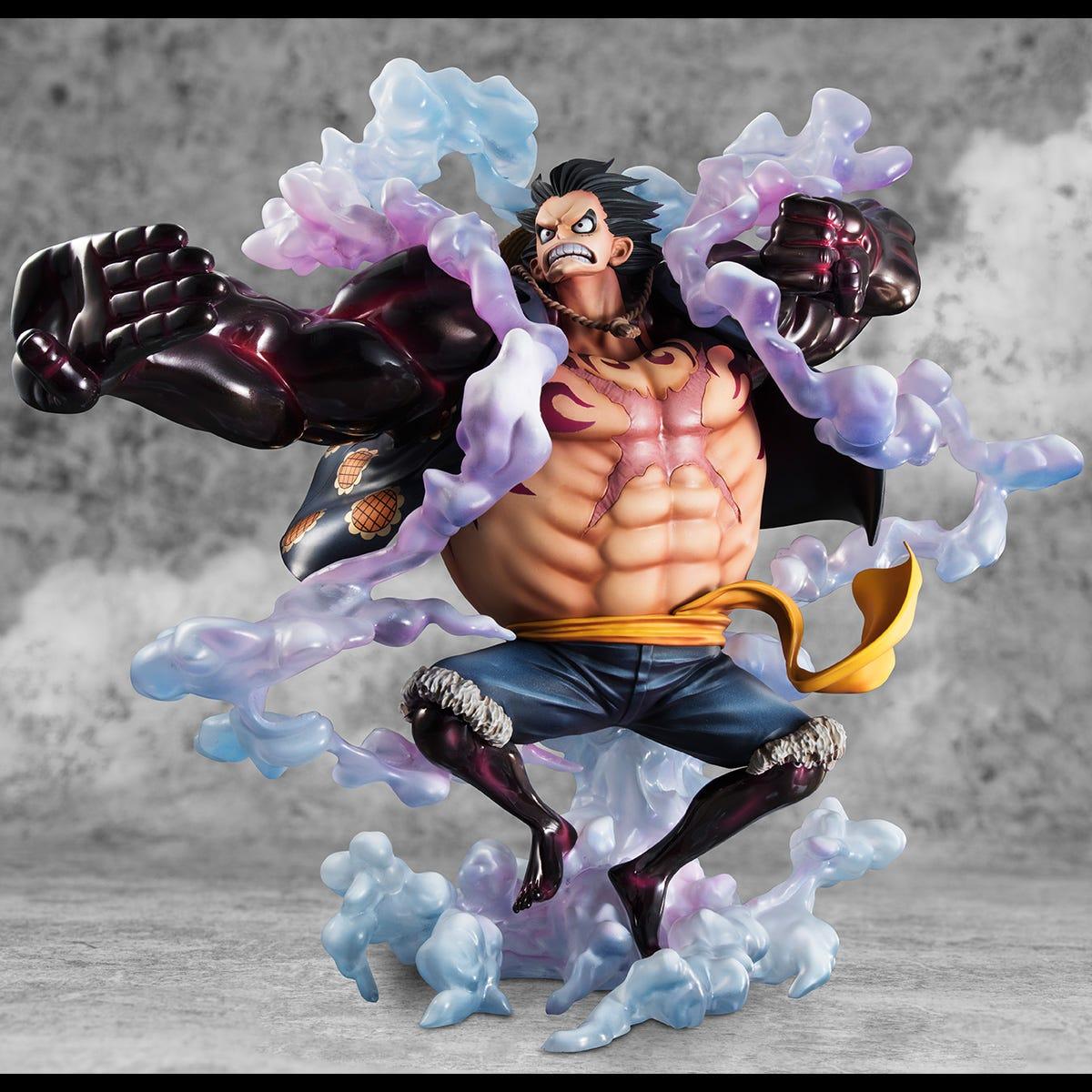 Figure one piece luffy kong gun gear 4 bounce man thousand sunny kapal. 50+ Luffy Gear 4 Bounce Man - 最高の壁紙HD