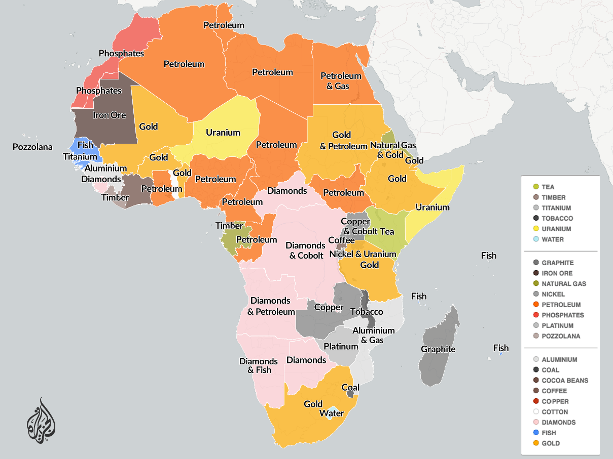 Mapping Africa S Natural Resources