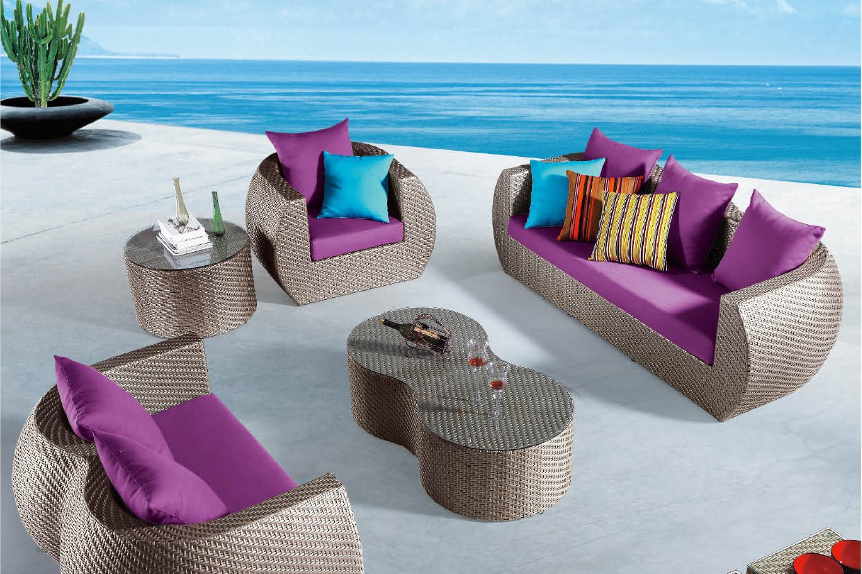 modern patio furniture types of