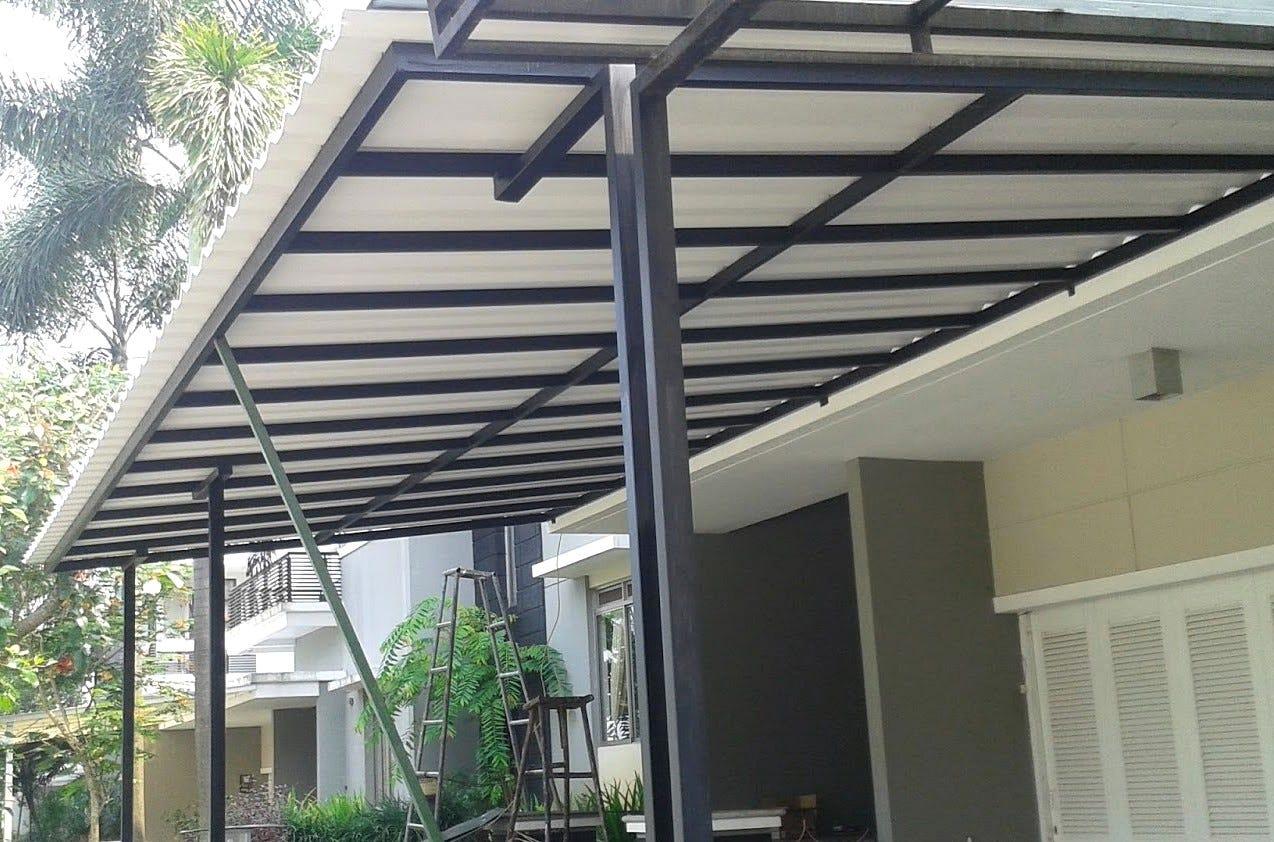 kanopi baja ringan termurah jasa pemasangan canopy dan terpercaya