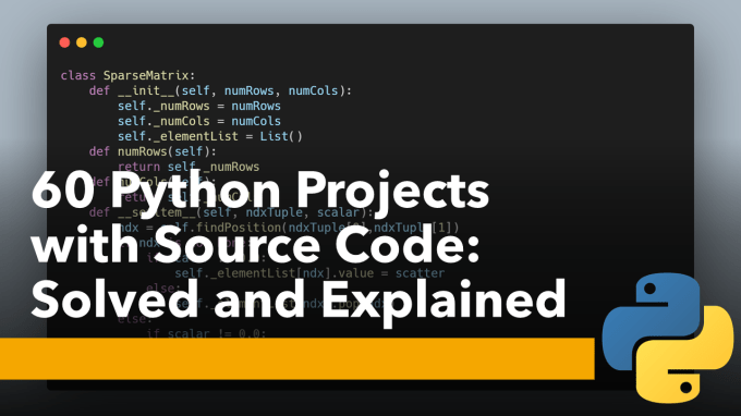 60 Python Projects With Source Code By Aman Kharwal Coders Camp Medium