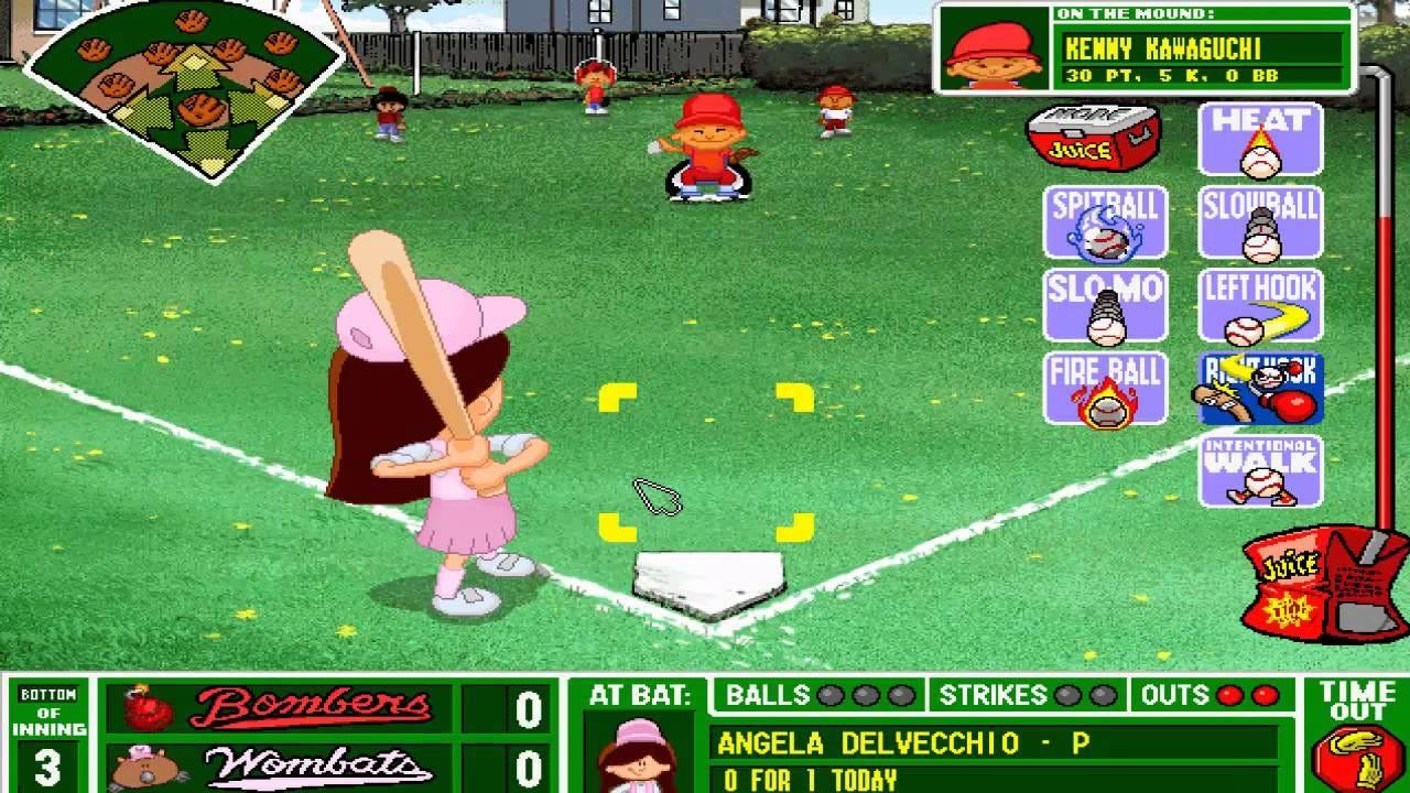 the original backyard baseball