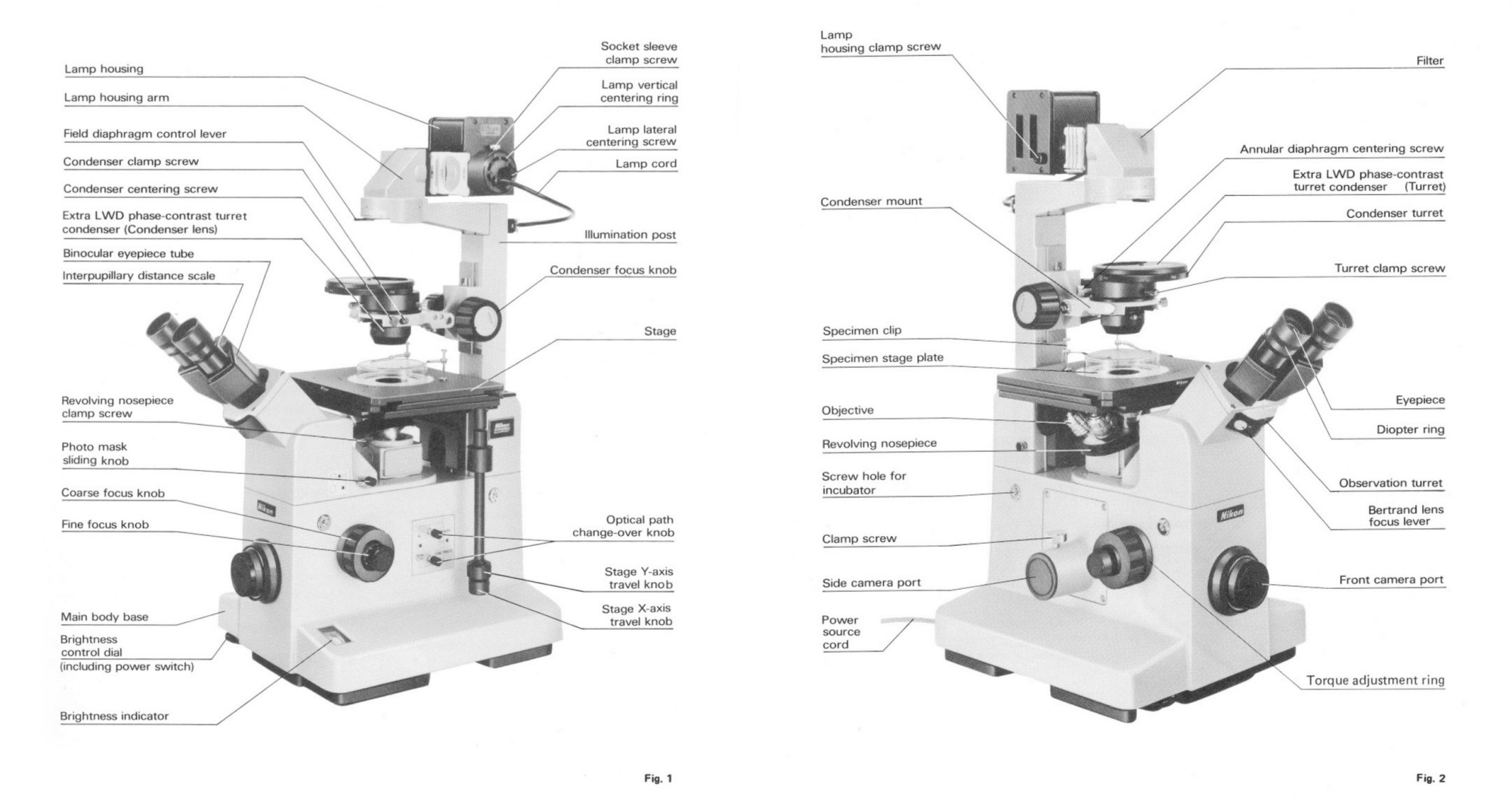 hight resolution of the images from the original nikon tmd inverted microscope more technical information can be found in these pdf s standard tmd dic and epi fluorescence