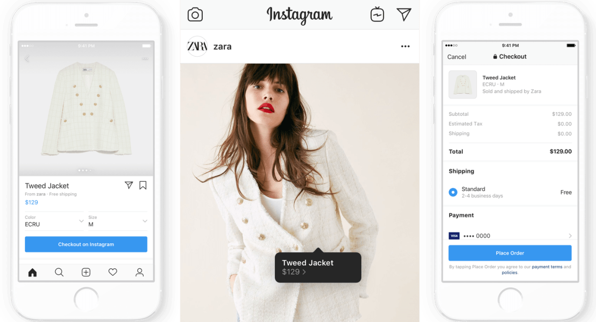 Image result for instagram in app purchase