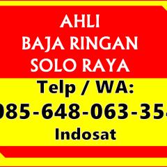 Harga Rangka Atap Baja Ringan Klaten Kandang Solo Wa 085 648 063 354 Im3 Kanopi