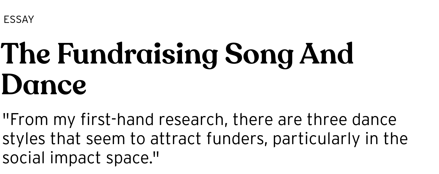 the fundraising song and