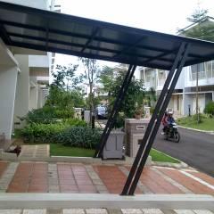 Contoh Atap Baja Ringan Rumah Minimalis Desain Kanopi Dengan Terbaru 2019