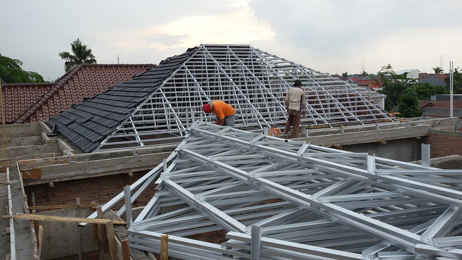 memasang plafon baja ringan jasa pasang atap kanopi pekanbaru riau