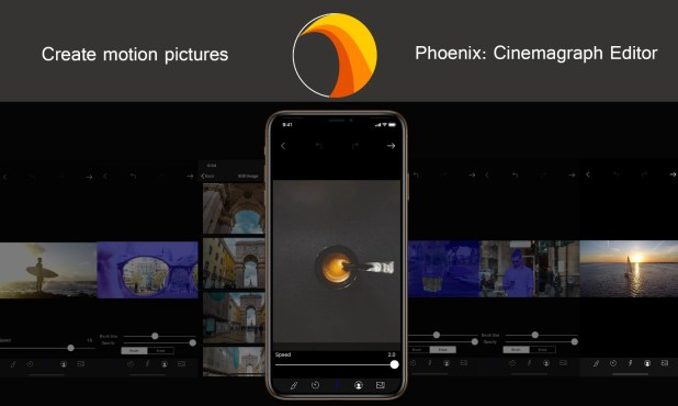 Phoenix: Cinemagraph Editor — Create Motion Pictures