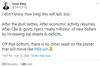 1*SA34z2aBXIiYl33yki9X w - Twitterati on Bitcoin