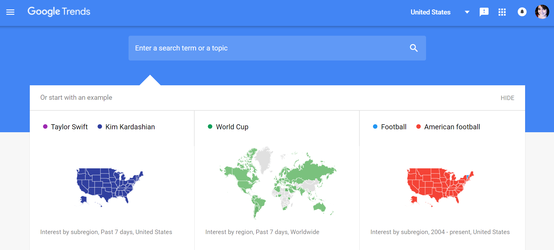 google trends is a