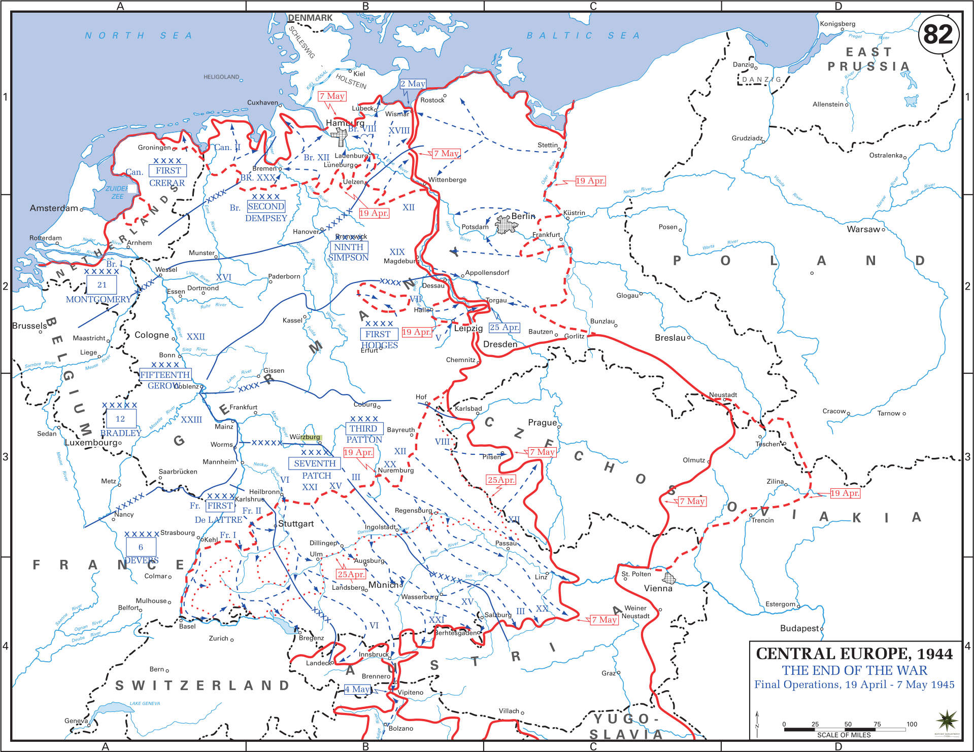 Western Front Maps Of World War Ii