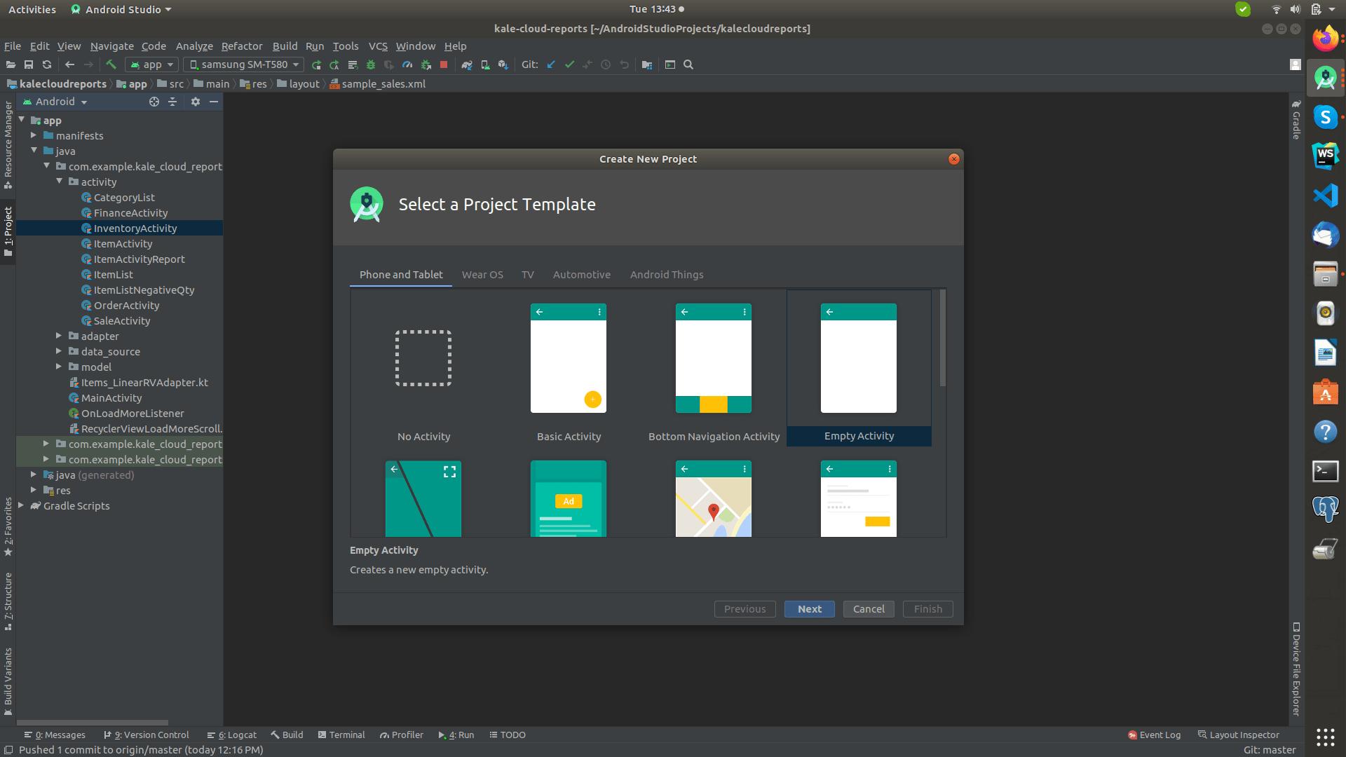 Android Kotlin Hello World Example   by Satharuban   Medium