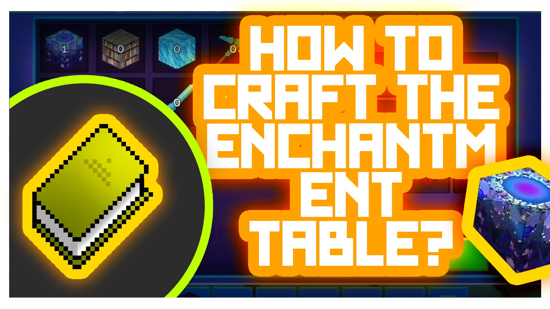 Tutorial How To Craft The Enchantment Table In Realmcraft Game By Realmcraft Game Tellurion Mobile Dev Medium