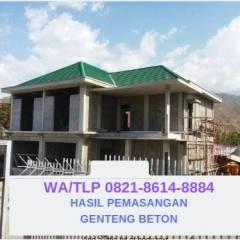 Harga Atap Baja Ringan Dan Genteng Beton Wa Telp 082186148884 Jual Flat Bali