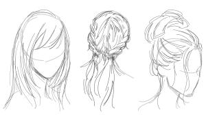 hair drawing draw pencil ipad medium braids apple learn sketch messy buns weekend tatiana russian artist