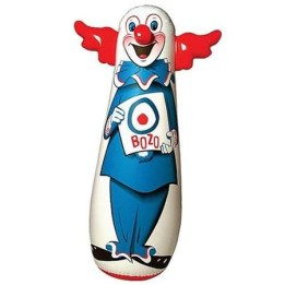 bozo bop bag inflatable punching bag with image of clown