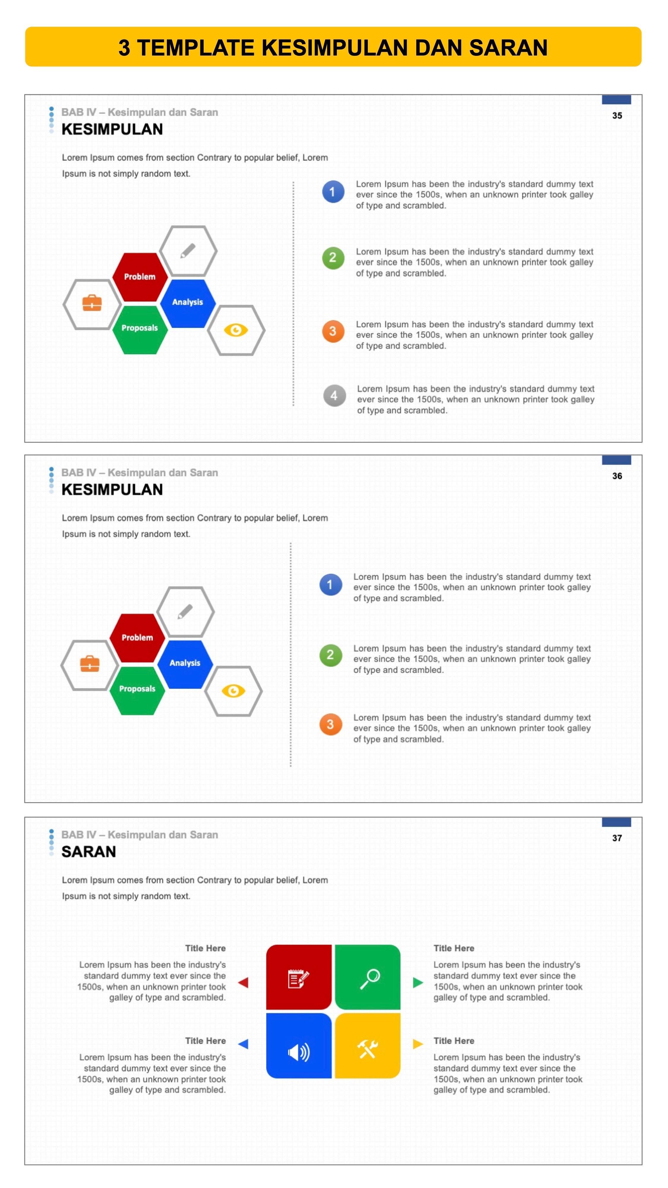 Contoh Slide Presentasi Skripsi yang Baik dan Menarik (Terbaru di...)