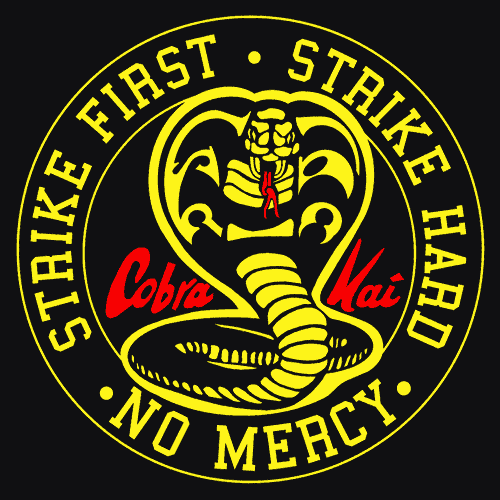 Cobra Kai!. I'm doing my best to stay muted and… | by Teniola | Medium