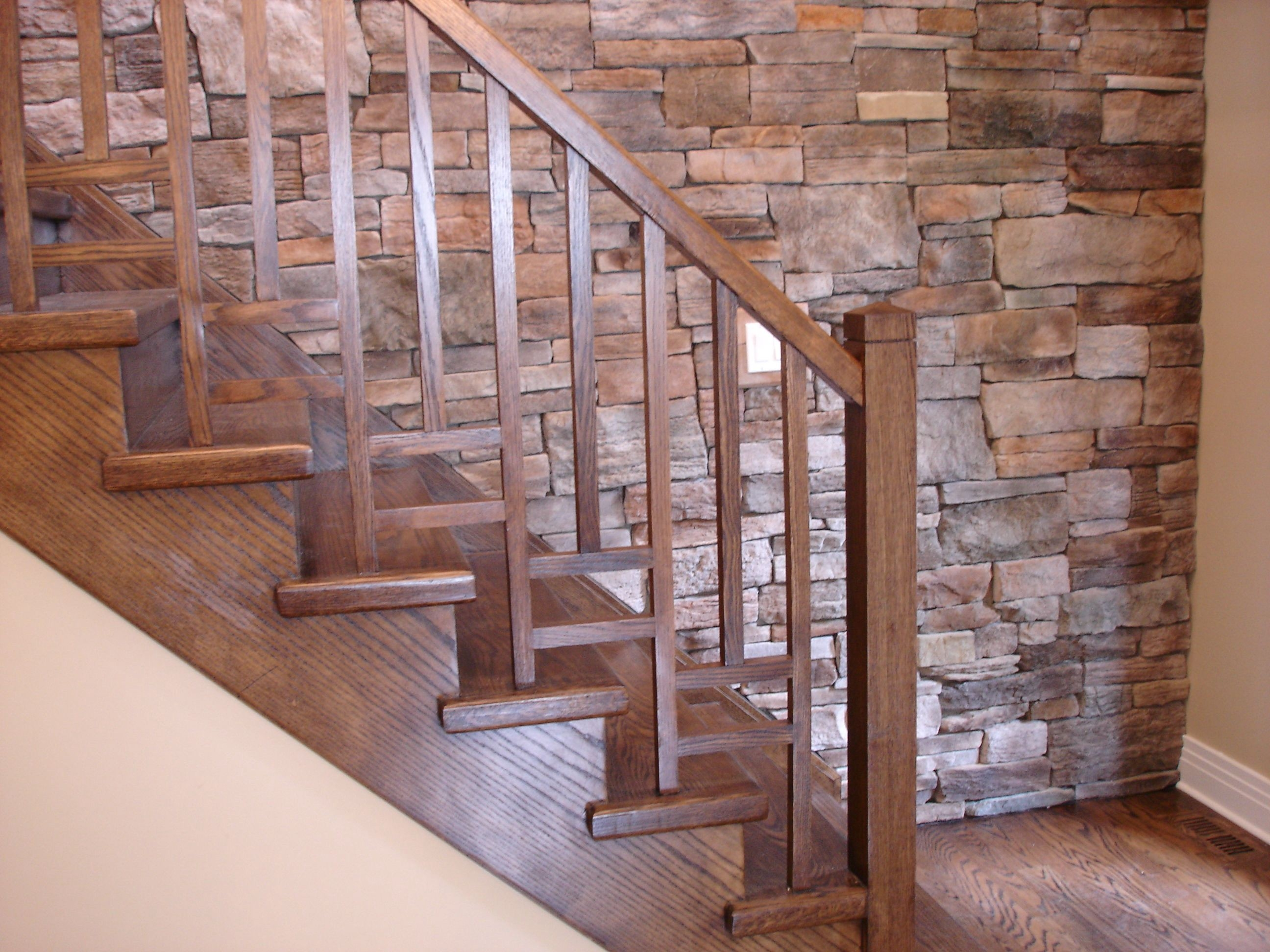 Modern Wood Stair Railing By Putra Sulung Medium | Modern Wood Stair Railing | Creative Outdoor Stair | Traditional | Indoor | Balustrade | Cherry Wood