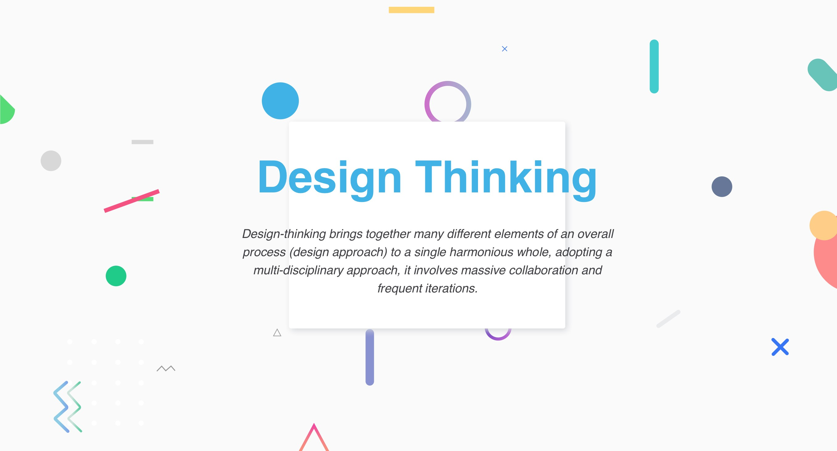 Design Thinking Not Just Another Buzzword