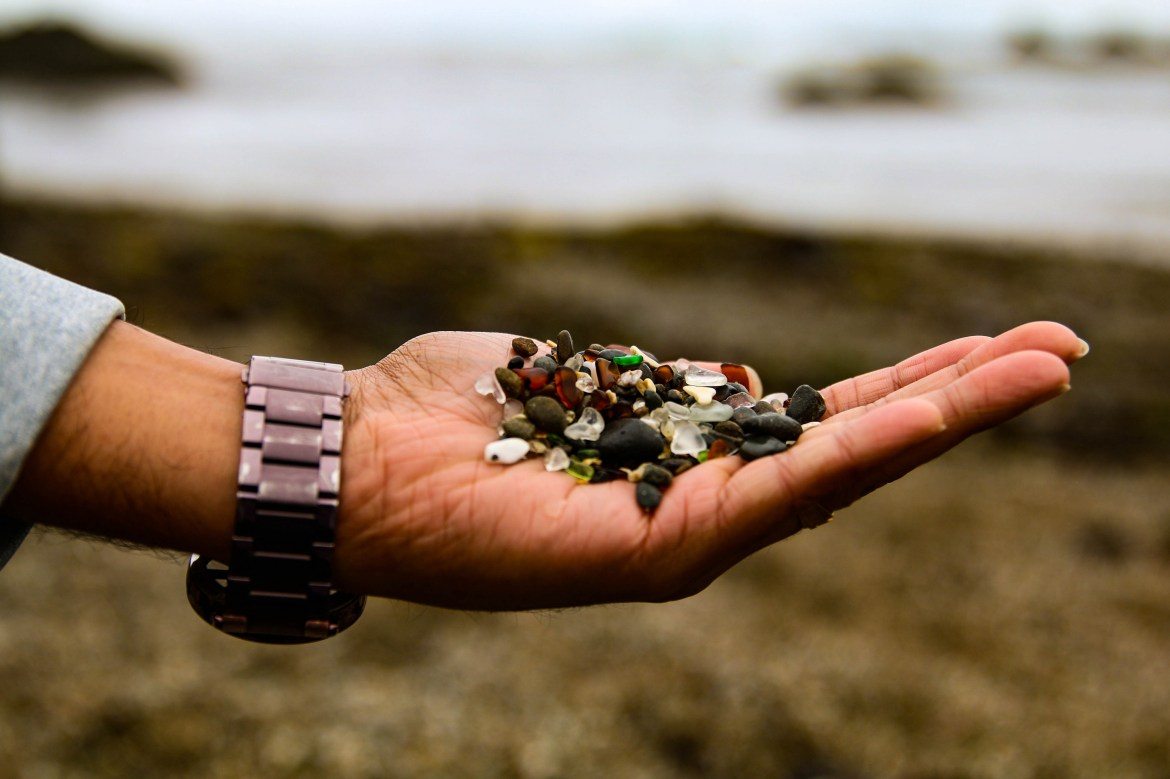 glass beach