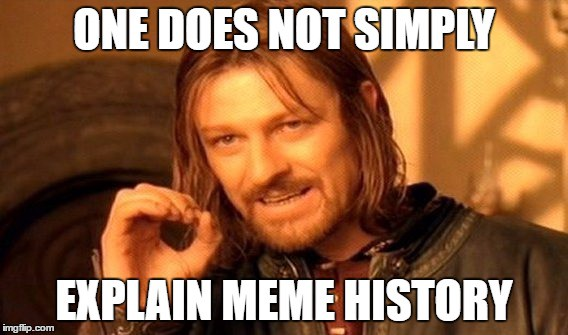 history of memes one