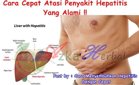 Cara Menyembuhkan Hepatitis Dengan Cepat - Hana Alifian - Medium