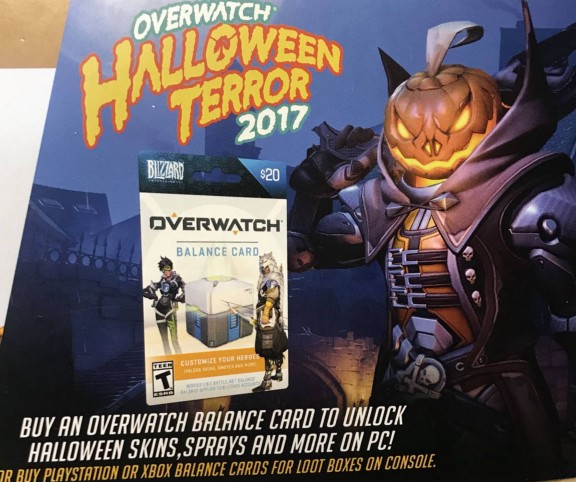 overwatch halloween terror leak