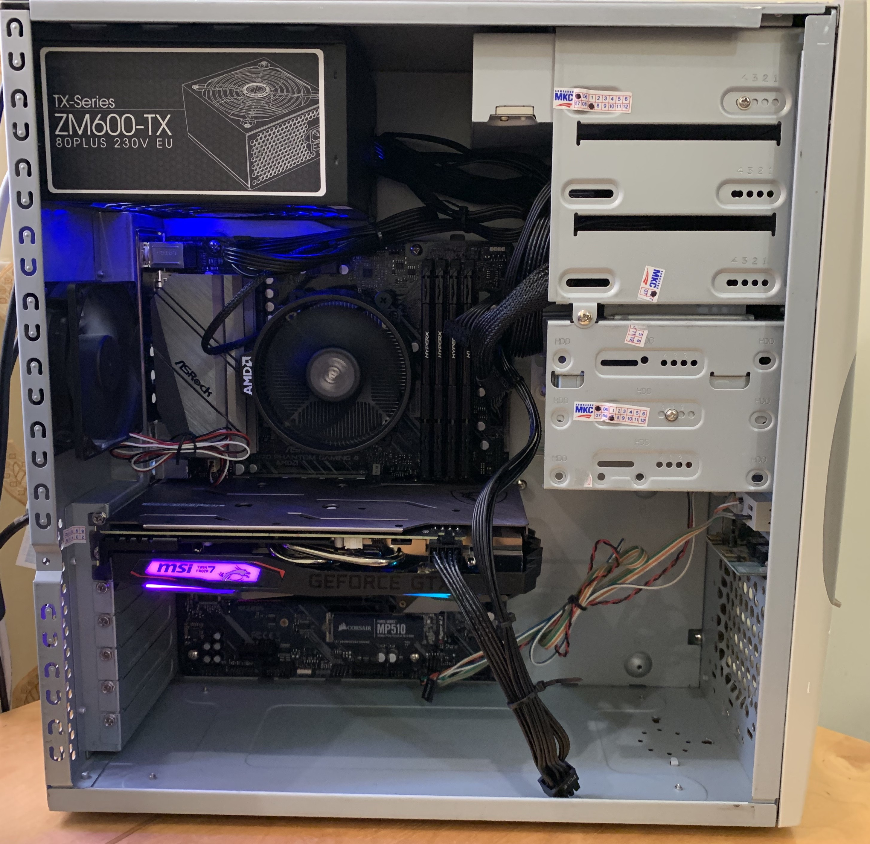 building a sleeper gaming pc the first